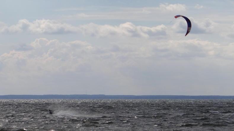 Kitesurfen in Schweden