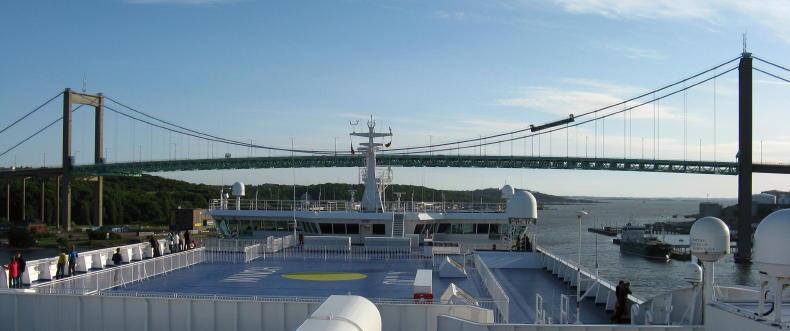Die neue Stena Germanica Kiel - Göteborg