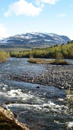 Kungsleden, nördlicher Abschnitt