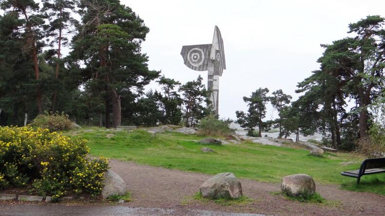 Kristinehamn und die Picasso-Skulptur