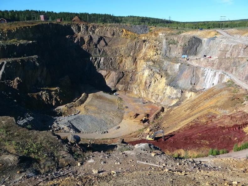Kupfergrube Falun