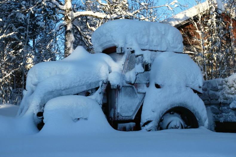 Winterbild aus Lappland