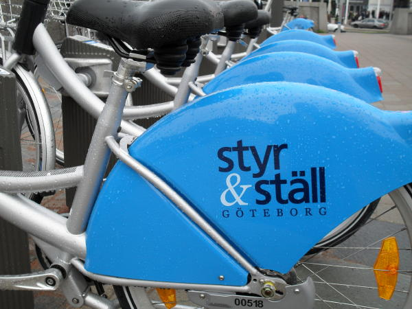 Leihfahrräder in Göteborg