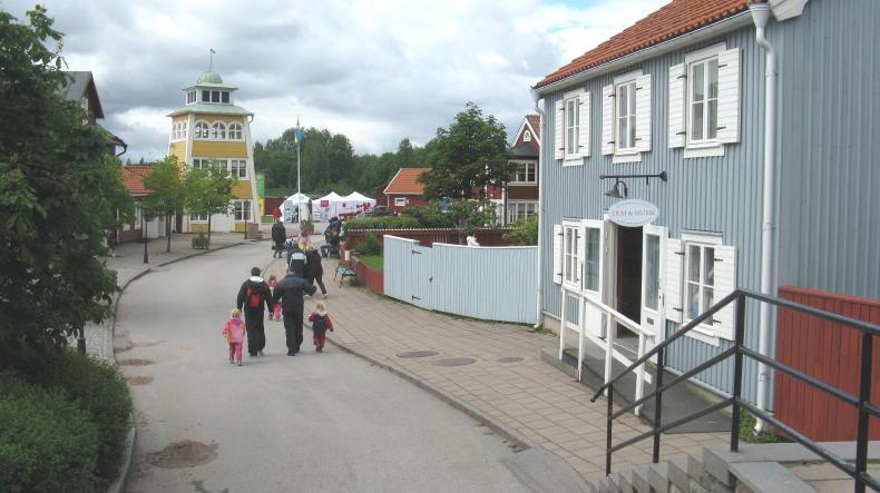 Die Krachmacherstraße in Vimmerby