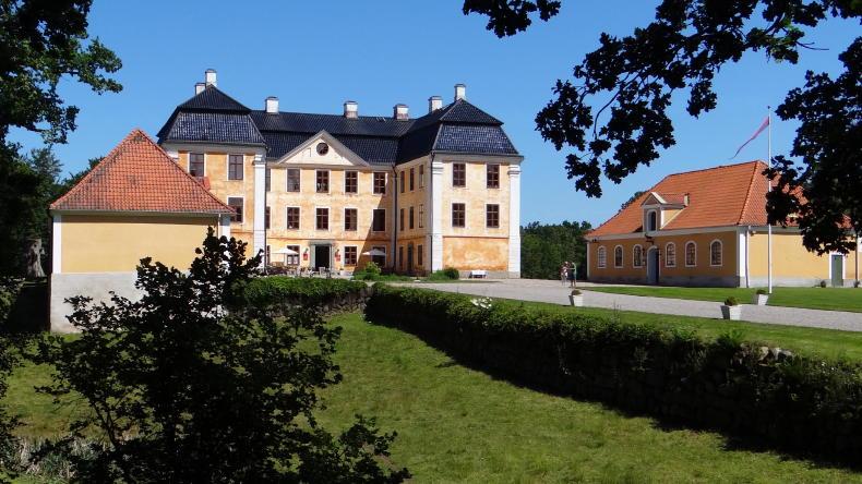 Schloss Christinehof und Christinehofs Ekopark