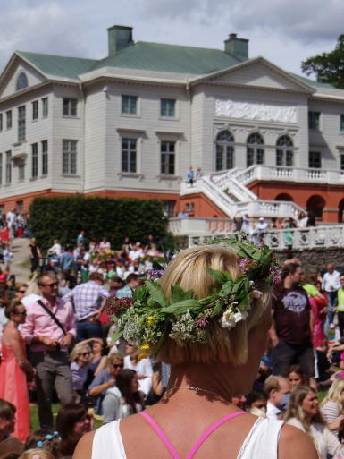 Mittsommer Gunnebo Schloss
