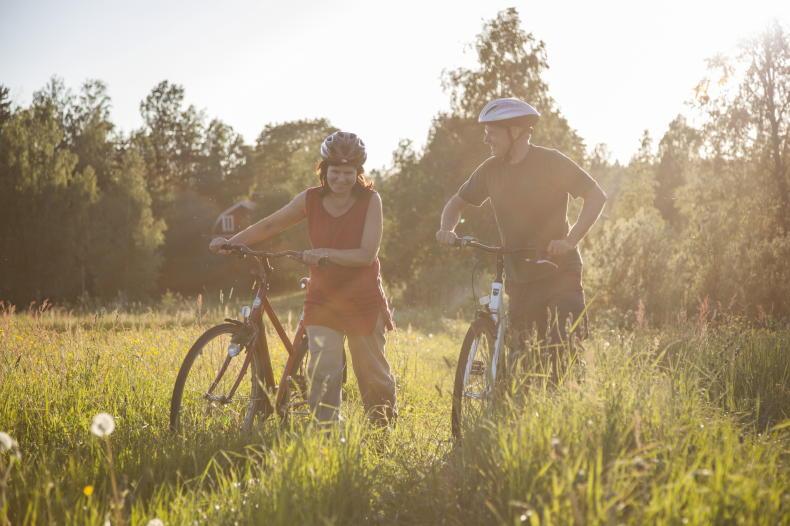 Radfahren in der Region Örebro