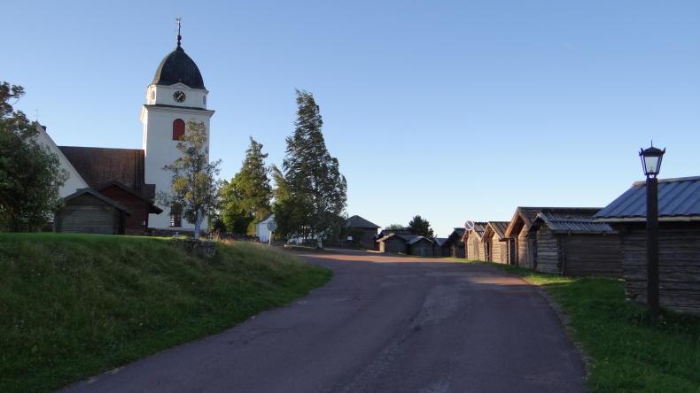 Die Kirche von Rättvik