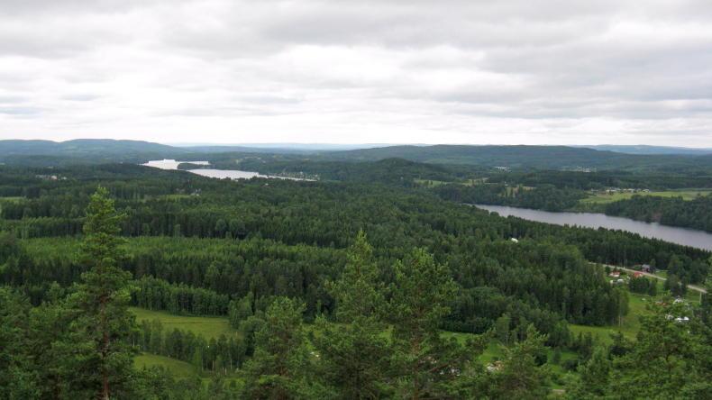 Ryggestadberget in Gunnarskog bei Arvika