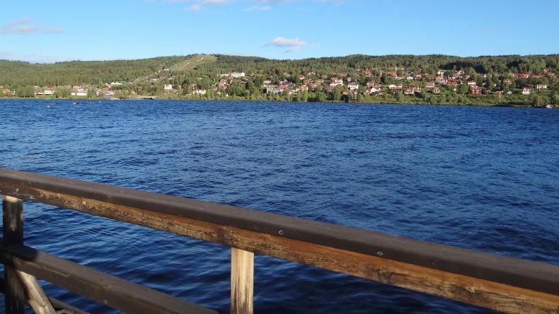 Seebrücke Rättvik