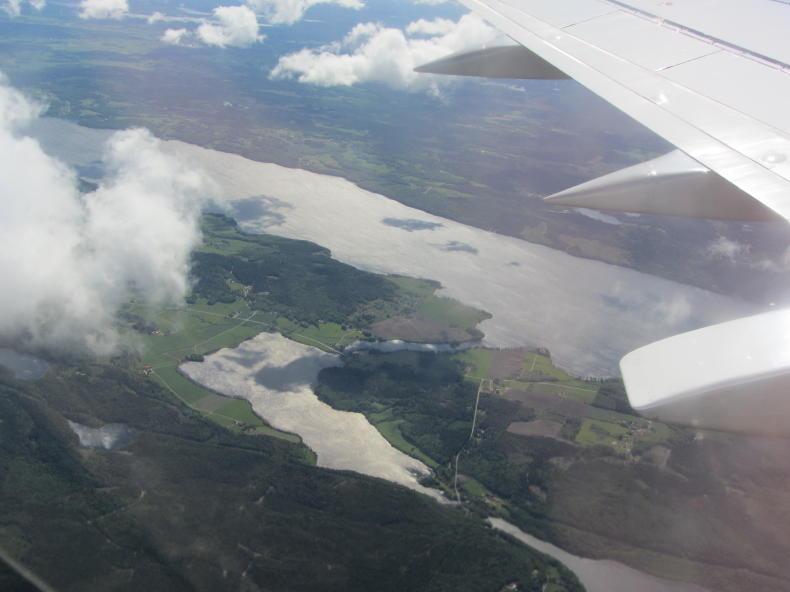 Lygnern Luftaufnahme