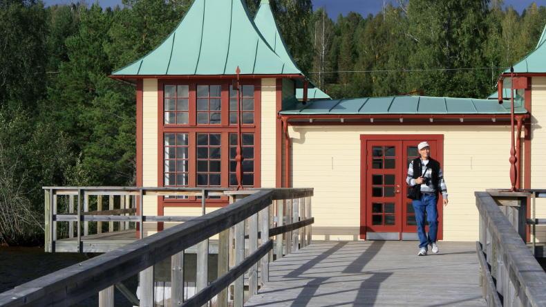 Persborgs Brygga in Rättvik Sjurberg