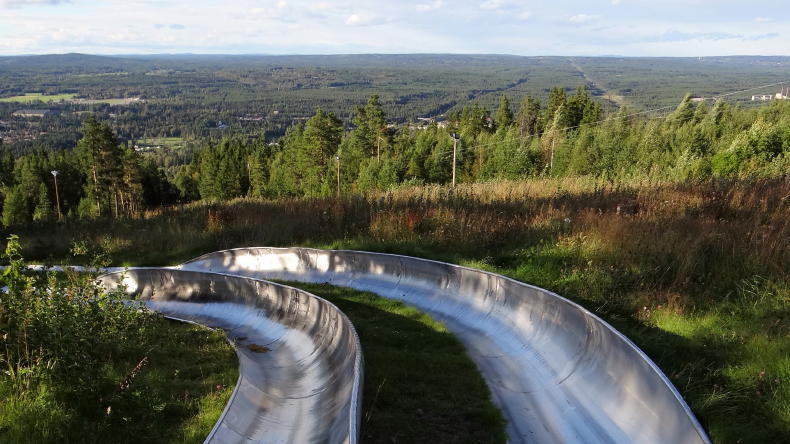 Sommerrodel in Rättvik