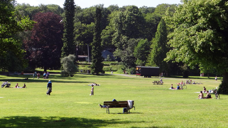 Der Slottsskogen in Göteborg