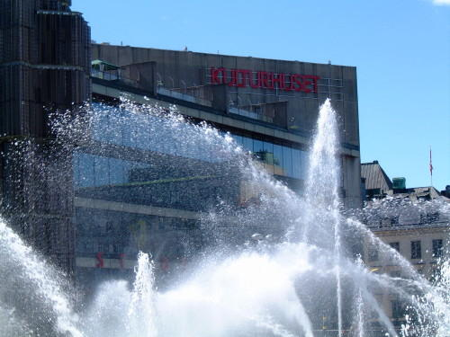 Sergels Torg mit Kulturhuset