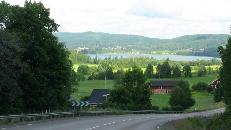 Blick Richtung Mårbacka