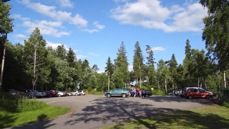 Der Taberg südlich von Jönköping