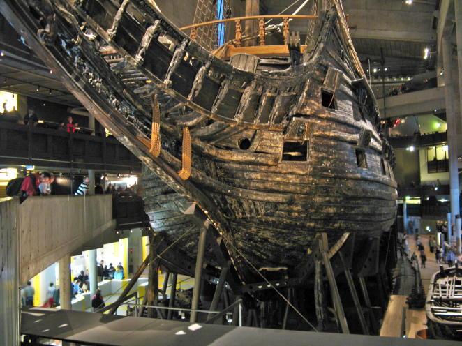 Die Vasa im Vasa-Museum Stockholm