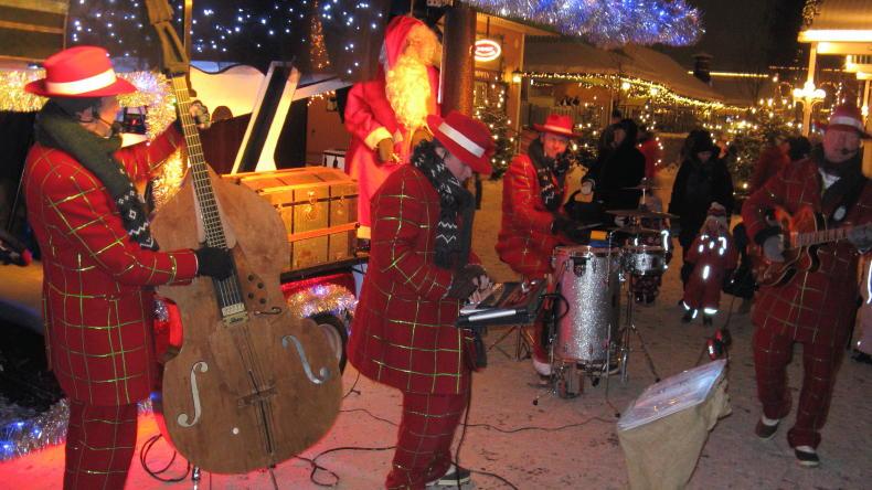 Musik auf dem Weihnachtsmarkt Liseberg
