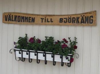 Björkängs Camping in Halland, bei Varberg