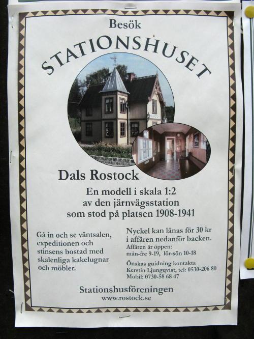 Bahnhof Dals-Rostock
