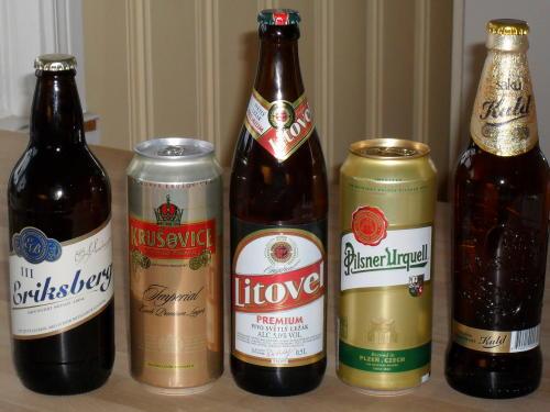 Bier in Schweden