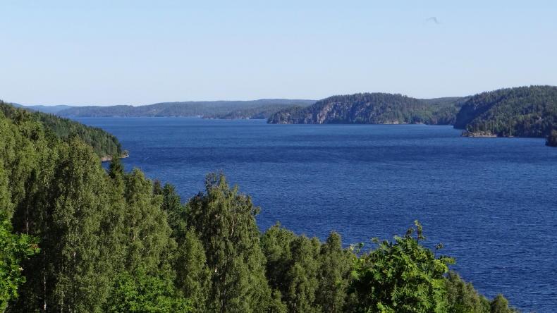 Der See Stora Le in Dalsland
