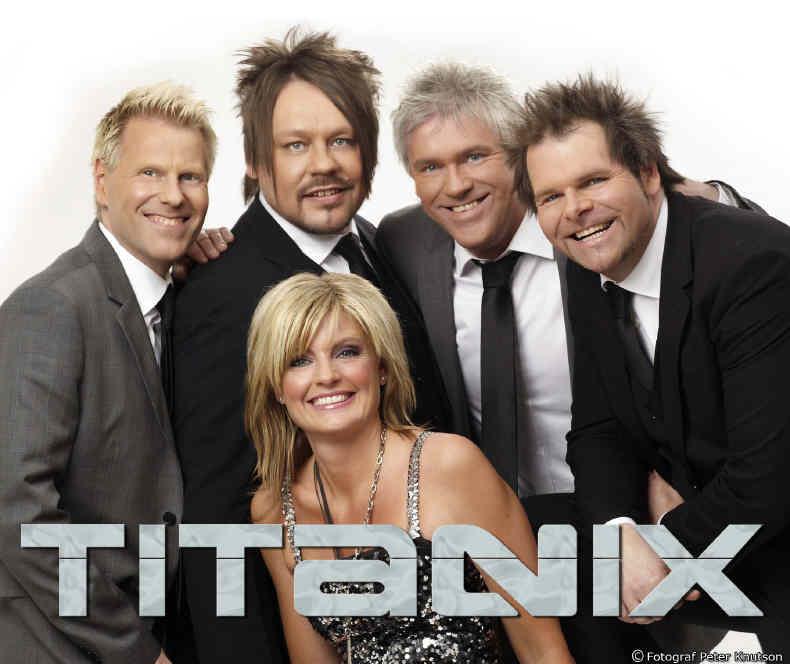 Titanix Dansband aus Schweden