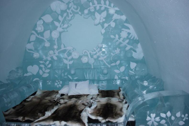 Das Eishotel in Jukkasjärvi