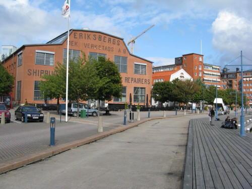 Stadtteil Eriksberg in Göteborg