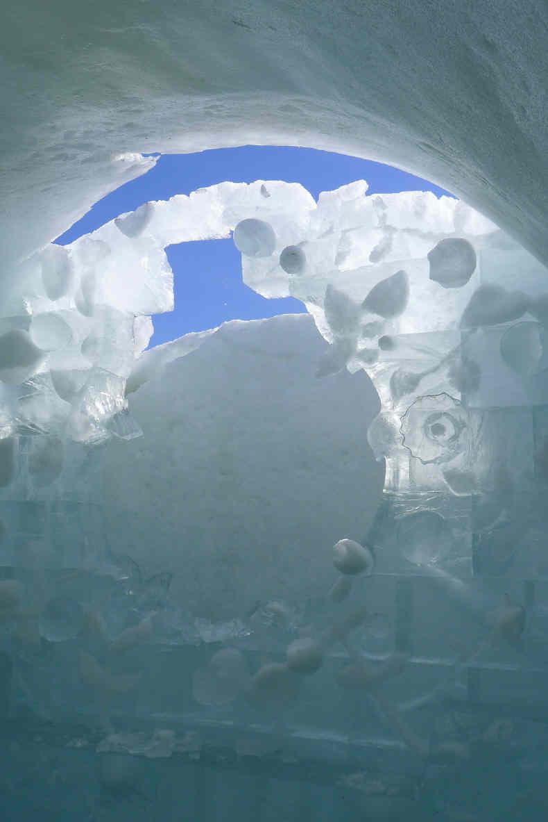 Das Ice Hotel Nummer 23 schmilzt