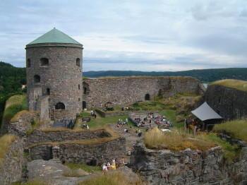 Festung Bohus bei Kungälv und Göteborg