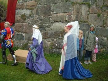 Bohus Fästning und die Medeltidsdagar