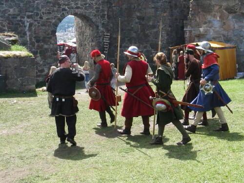 Bilder von der Festung Bohus