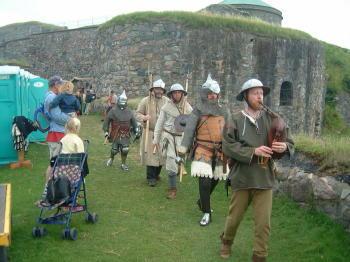 Festung Bohus und die Mittelaltertage