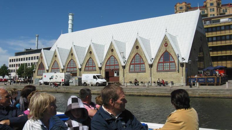 Paddan-Tour in Göteborg#