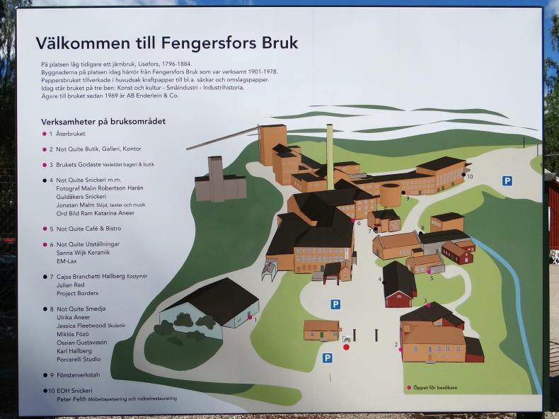 Not Quite in Fengersfors Bruk, Dalsland