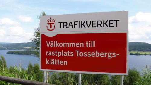 Rastplatz Tossebergskätten in Värmland