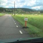 Mobile Elch-Schilder
