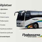 Neue Flughafenbusverbindung in Stockholm