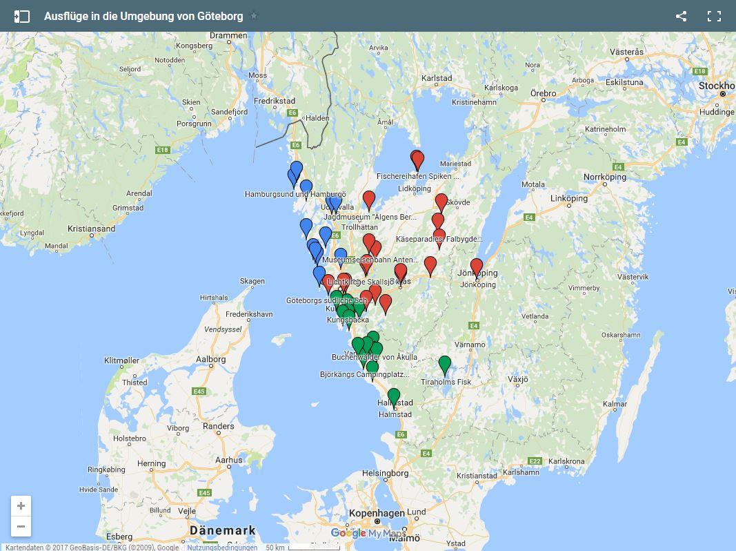 Ausfluge Und Tagesausfluge In Die Umgebung Von Goteborg