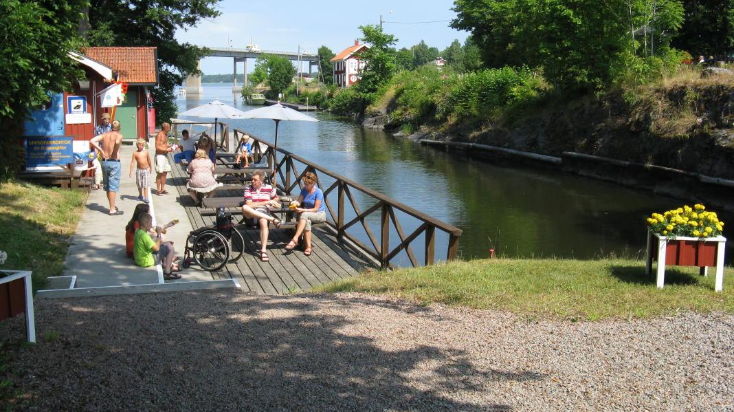Köpmannebro am Dalsland-Kanal und Vänern