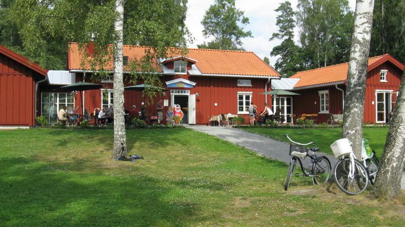 Café Nystuga im Freilichtmuseum Sågudden