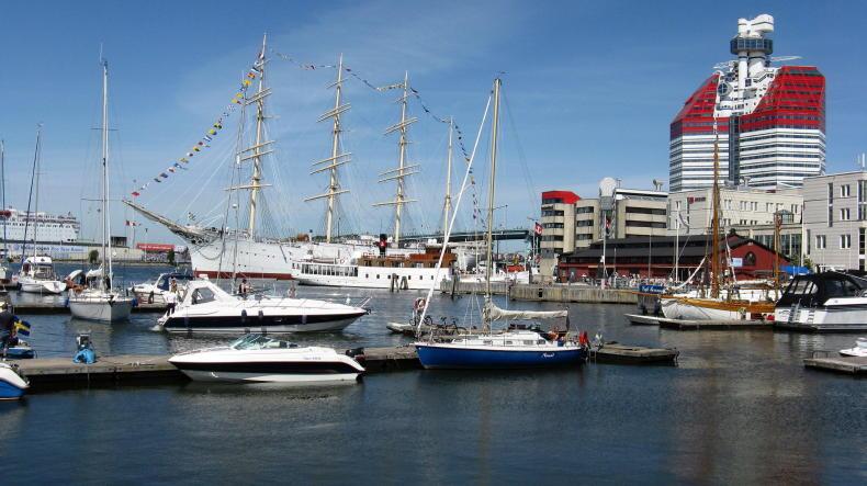 Göteborg: Hafen und Lilla Bommen