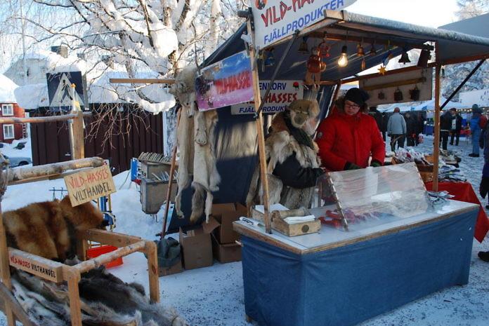 Jokkmokksmarknad, der Wintermarkt in Jokkmokk