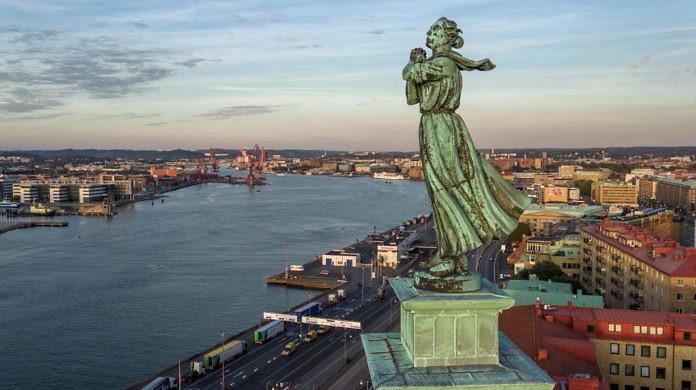 Der Seemannsturm, einer der schönsten Aussichtspunkte in Göteborg