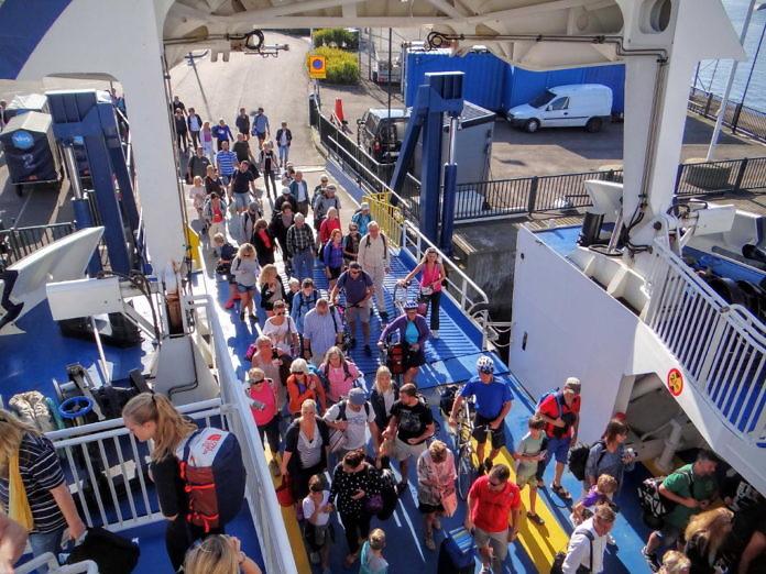 Ventrafiken: Mit der Fähre von Landskrona zur Insel Ven