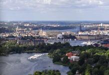 Kaknästornet, Stockholms Fernsehturm - Stockholm von oben