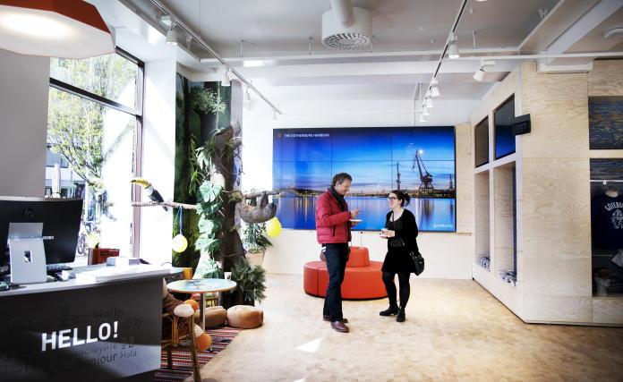 Touristeninformation in Göteborg nach Umbau wieder geöffnet