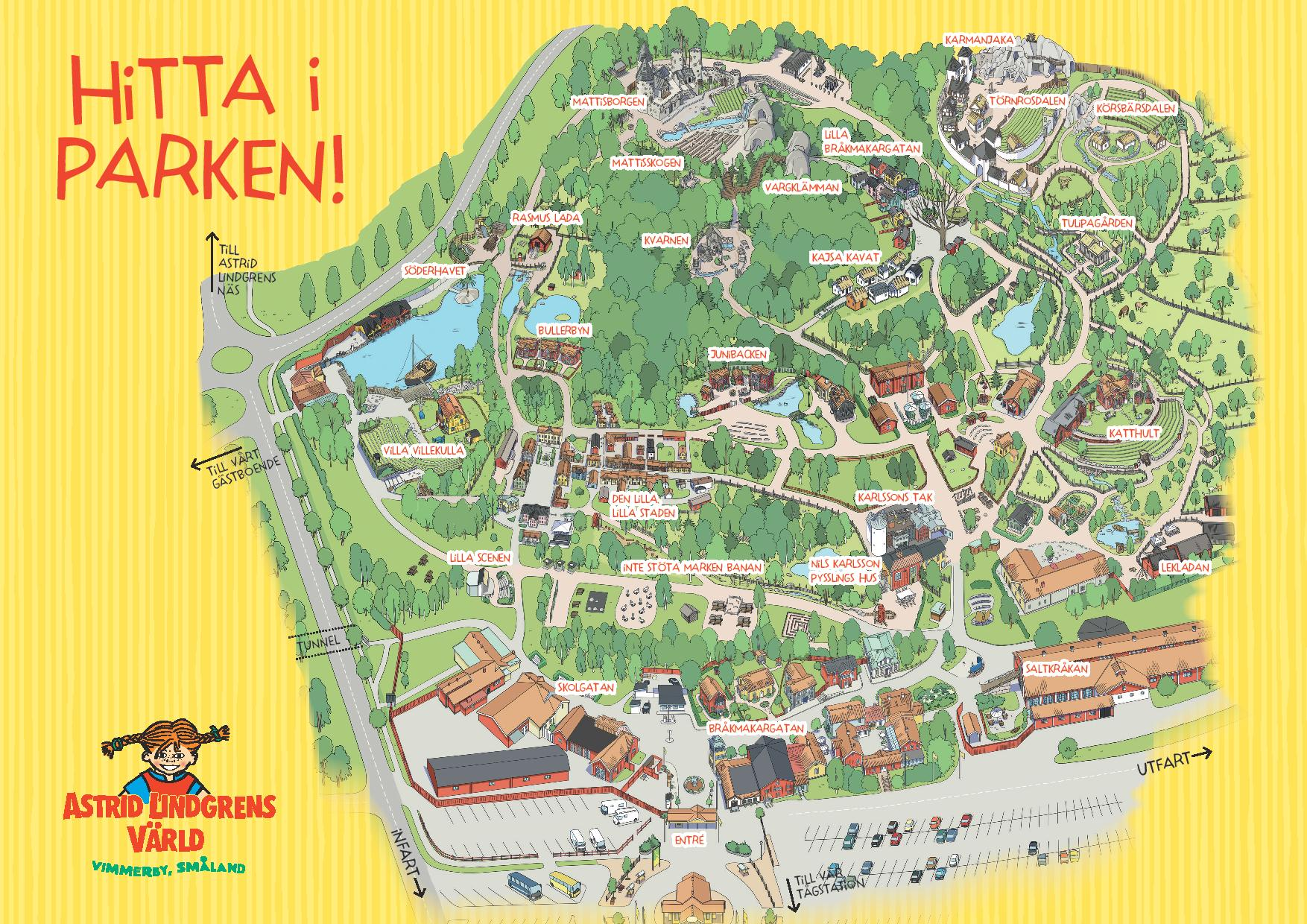 Schweden Waldbrände Karte.Astrid Lindgrens Welt 2019 Karte Und öffnungszeiten Schwedentipps Se